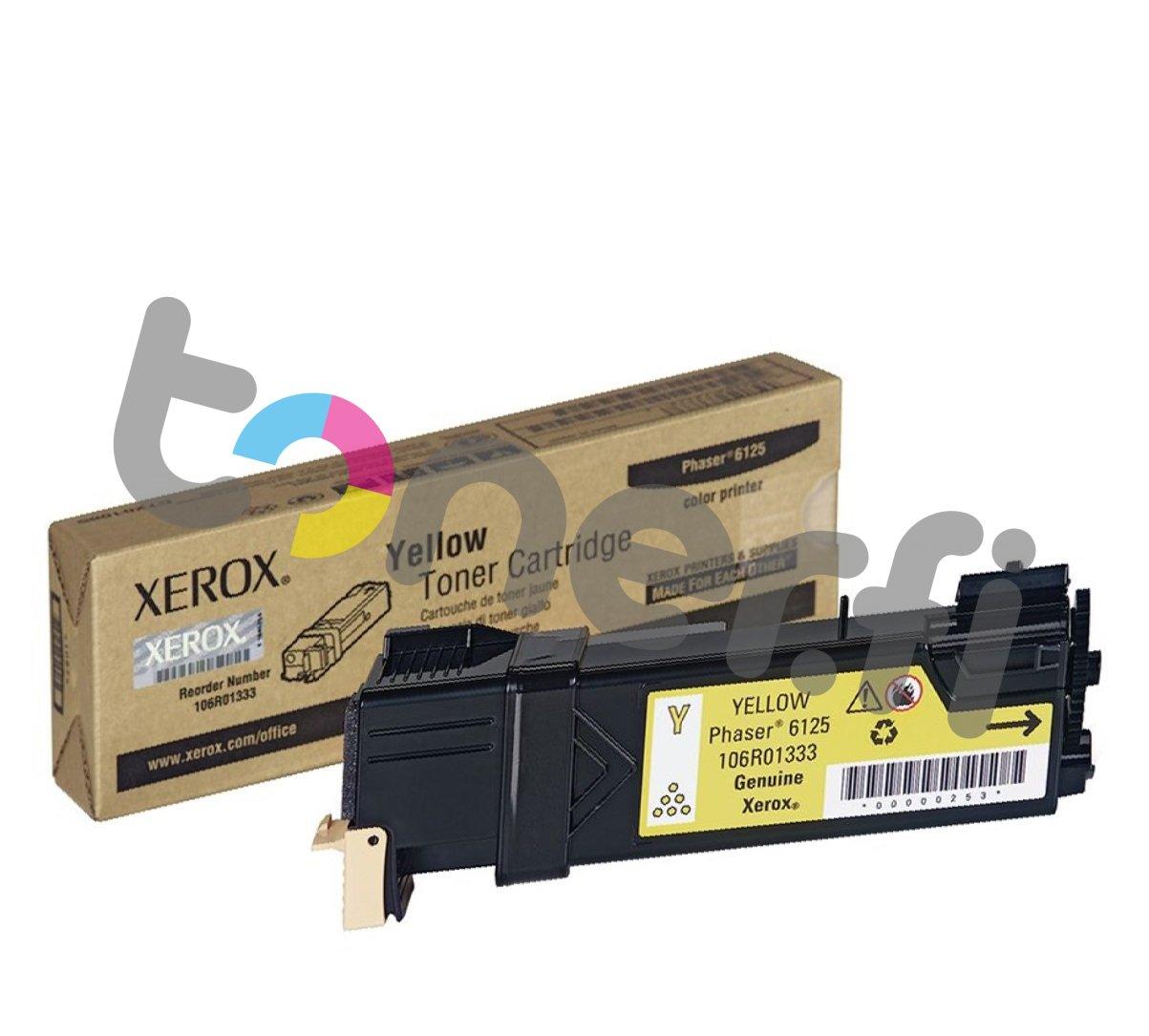 Xerox Phaser 6125 Värikasetti Keltainen