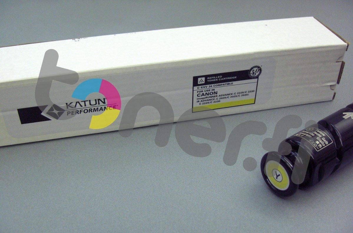 Canon C-EXV34 Värikasetti Keltainen Katun p/n 43651