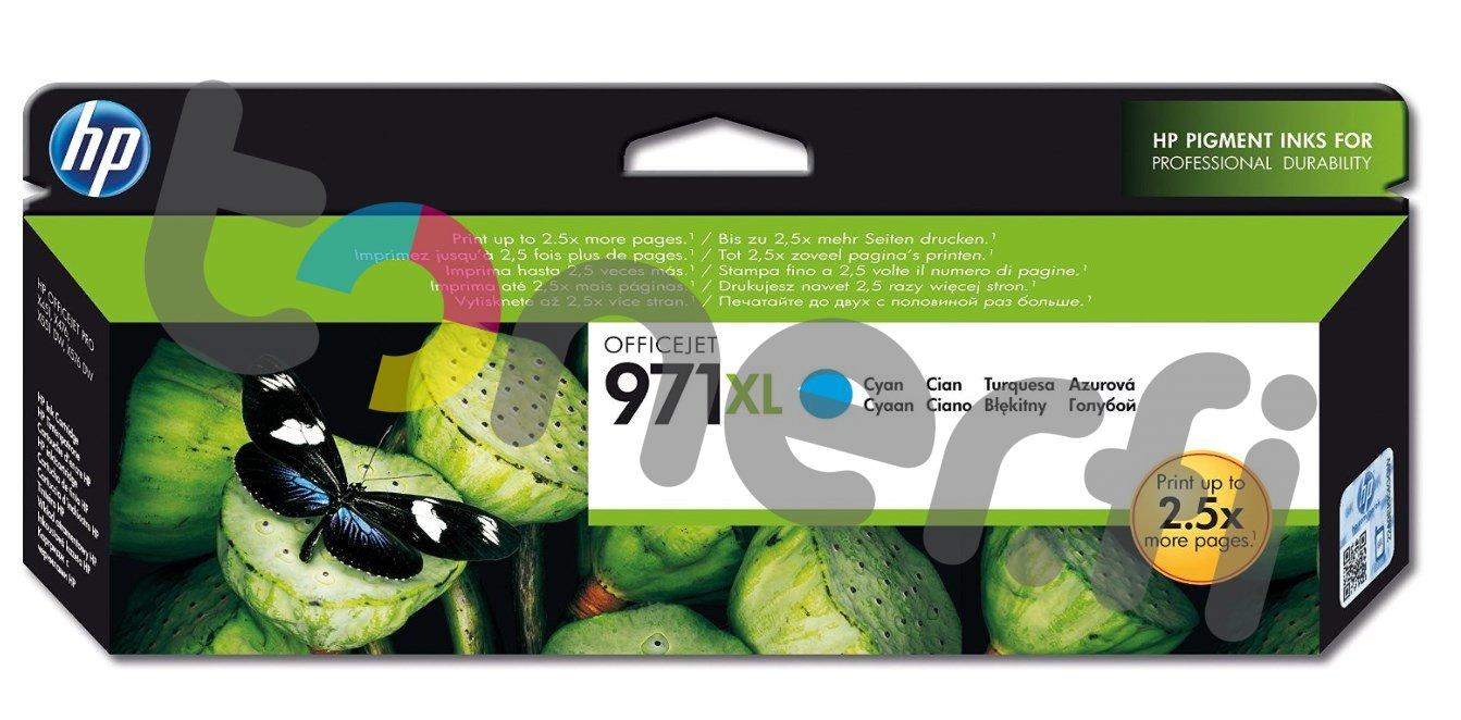 HP CN626AE Sininen Muste N:o 971XL