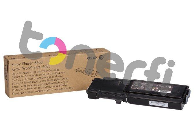 Xerox Phaser 6600 Värikasetti Musta