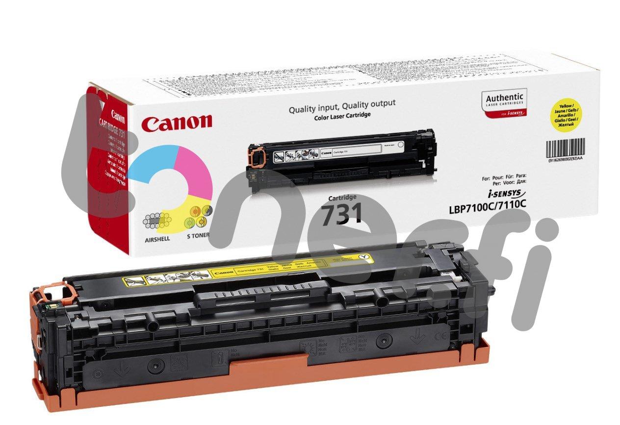 Canon 731 Värikasetti Keltainen