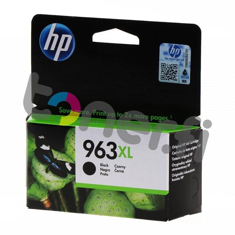 HP 963XL Musta Muste N:o 3JA30AE