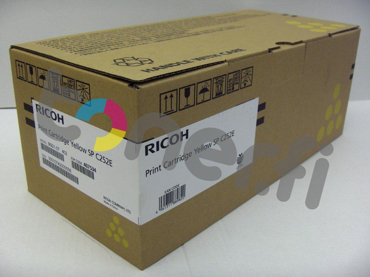 Ricoh SP C252E Print Cartr. Keltainen
