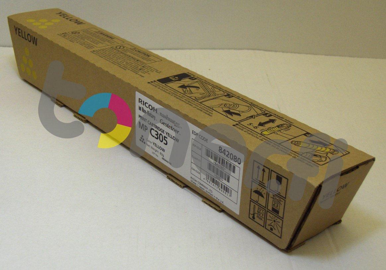 Ricoh MP C305 Print Cartr. Keltainen