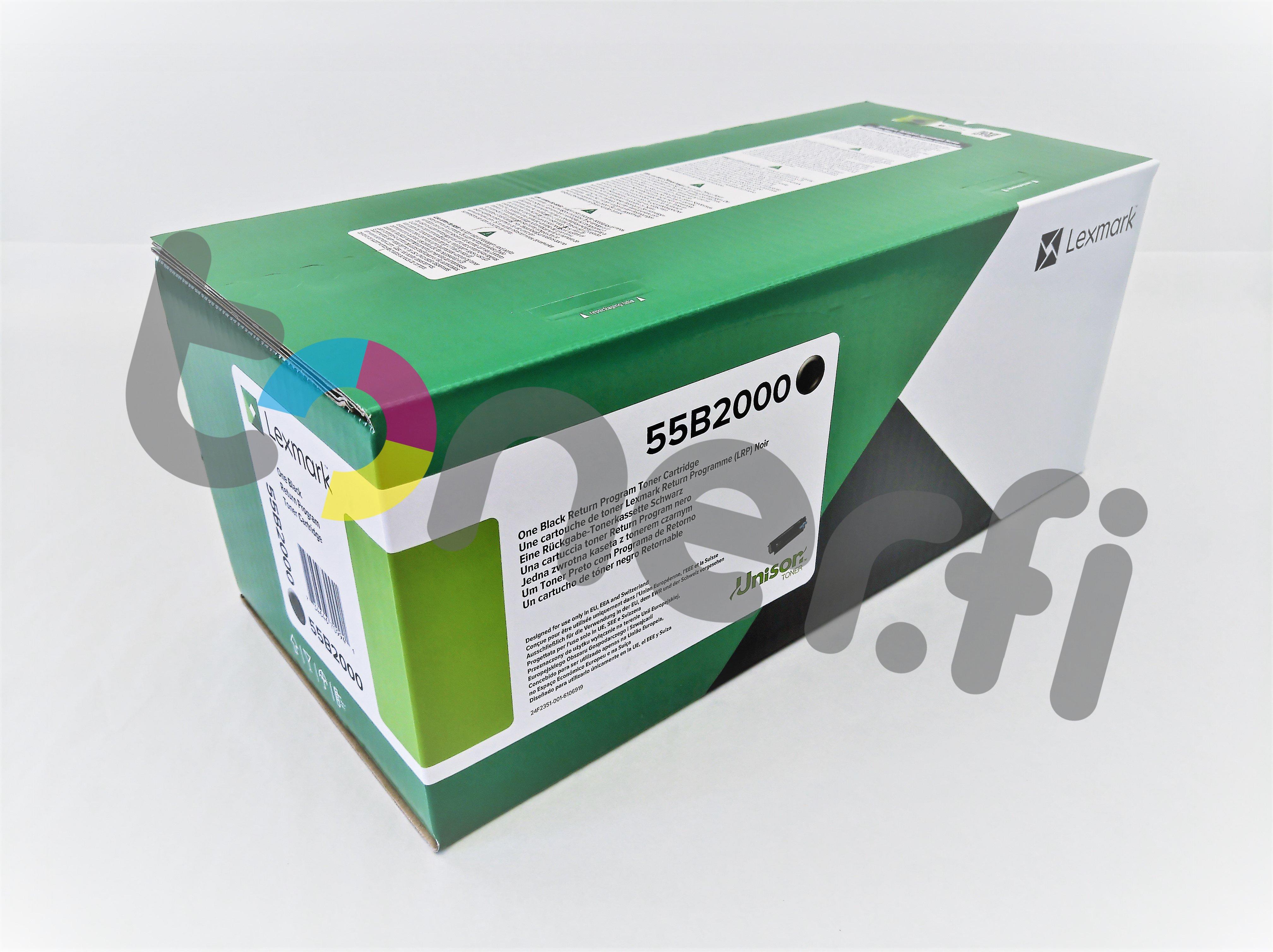 Lexmark MS331 Värikasetti 55B2000