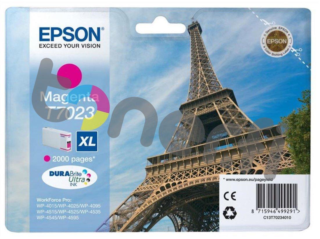 Epson C13T70234010 XL Muste Punainen