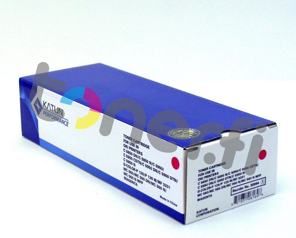 OKI C5850 Värikasetti Punainen Katun p/n 38994