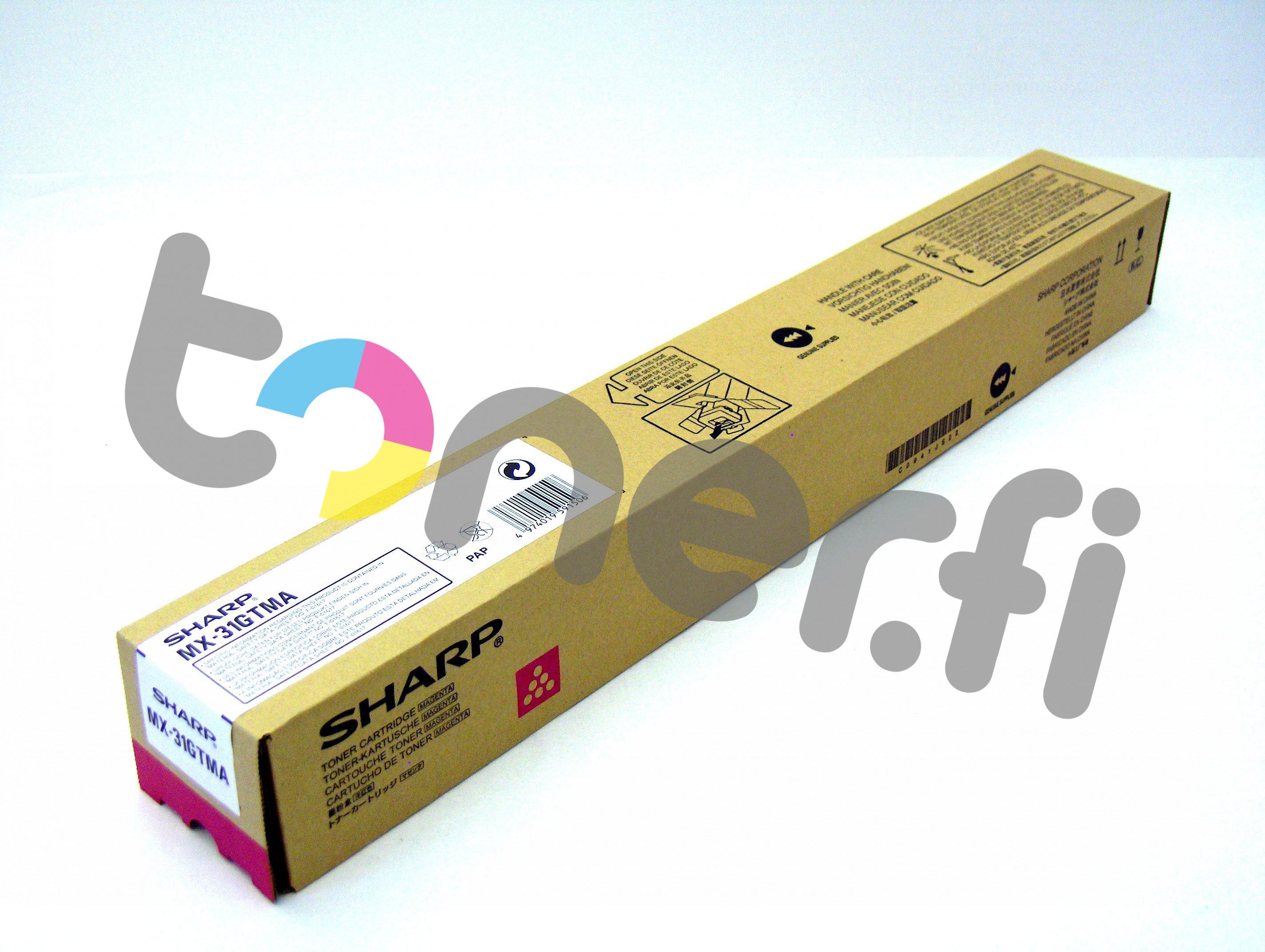 Sharp MX-31GTMA Värikasetti Punainen