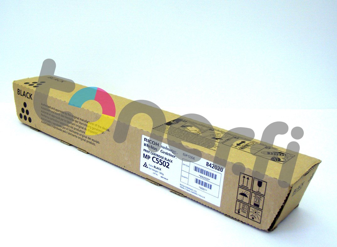 Ricoh MP C5502E Print Cartr. Musta