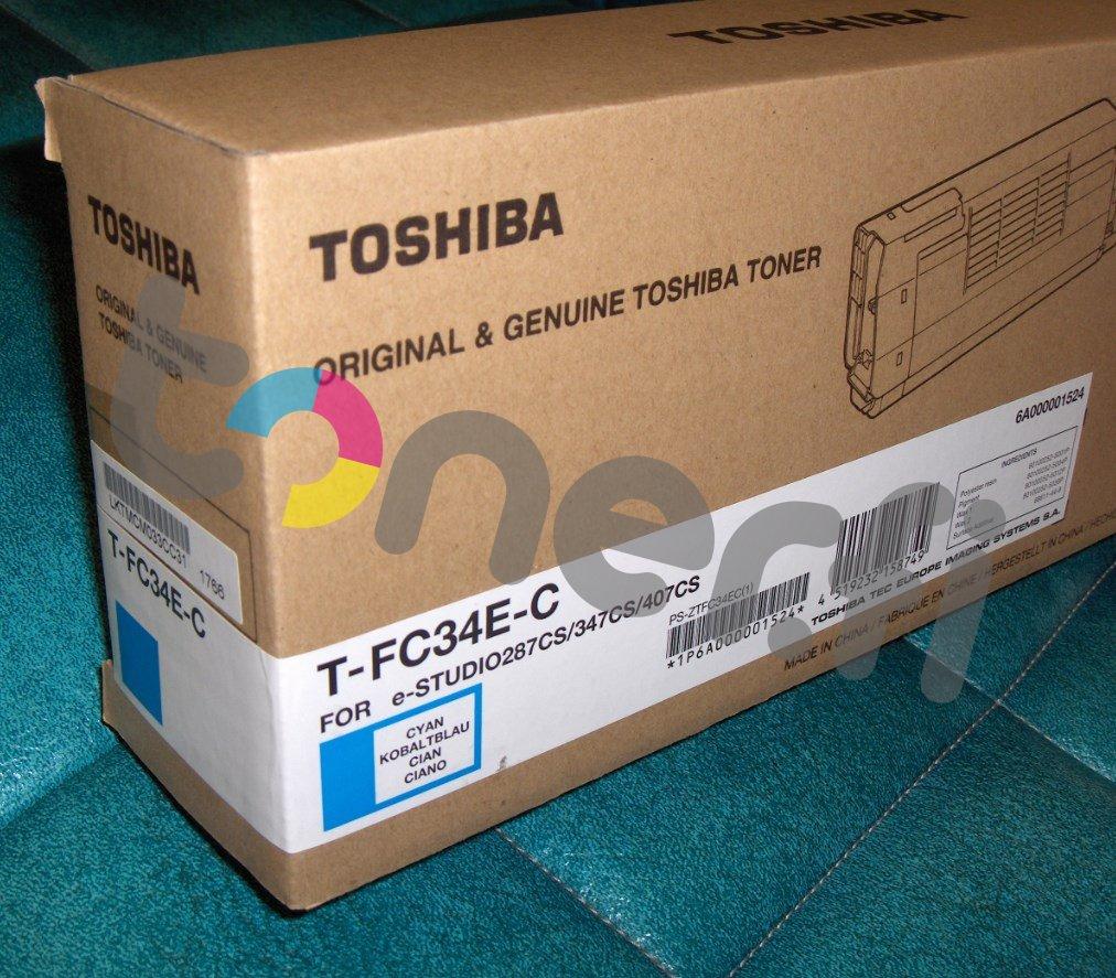 Toshiba T-FC34E-C Värikasetti Sininen