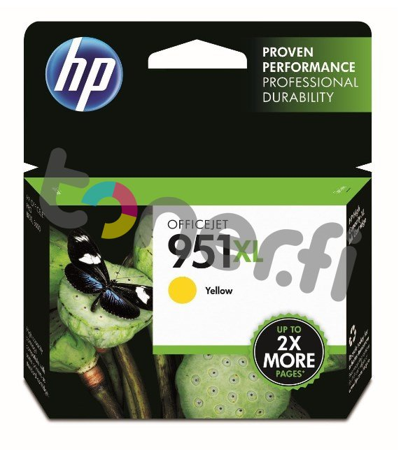 HP CN048AE Keltainen Muste N:o 951XL