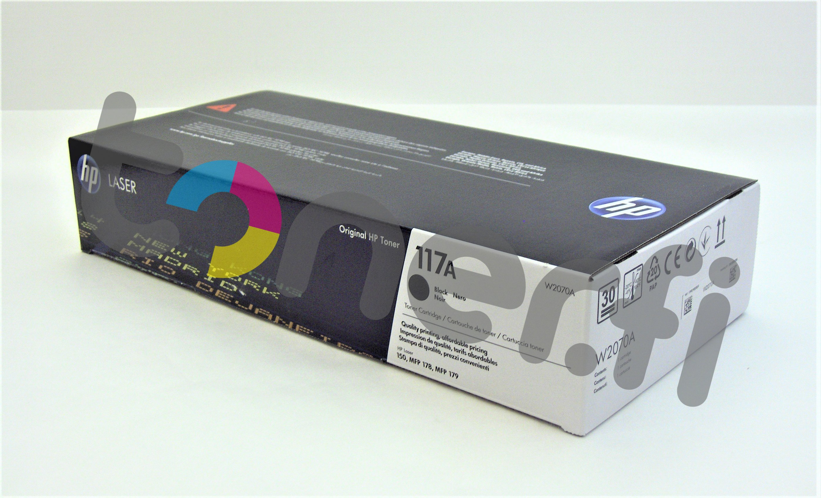 HP 117A Värikasetti Musta