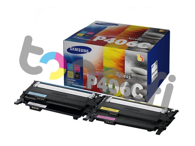 Samsung CLT-P406C Värikasetti Value Pack