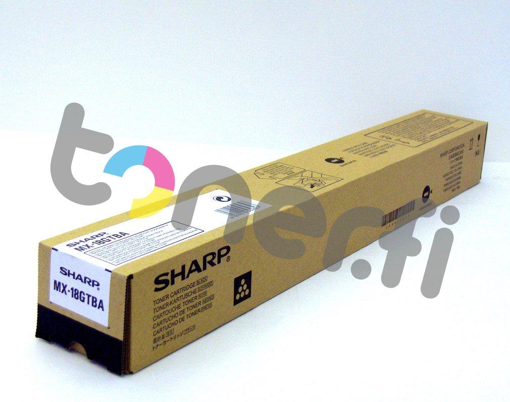 Sharp MX-18GTBA Värikasetti Musta
