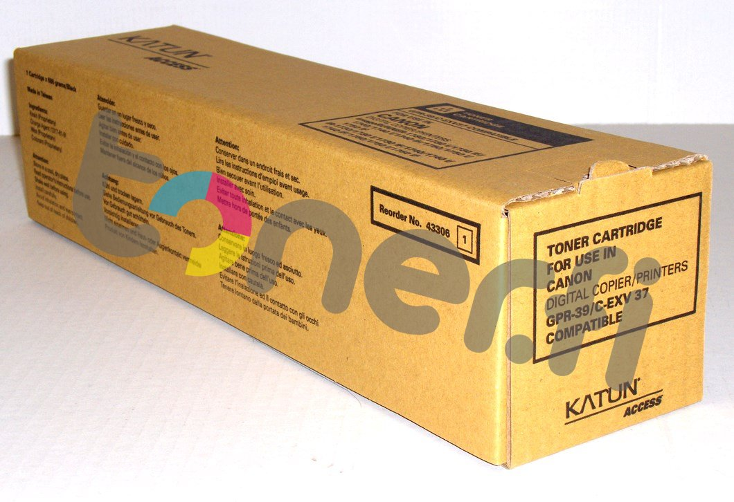 Canon C-EXV37/C-EXV43 Värikasetti Katun p/n 43846