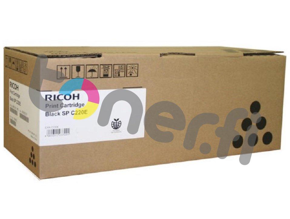 Ricoh SP C220E Print Cartr. Musta