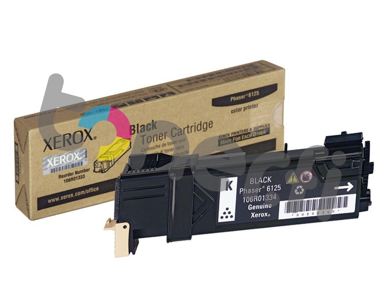 Xerox Phaser 6125 Värikasetti Musta