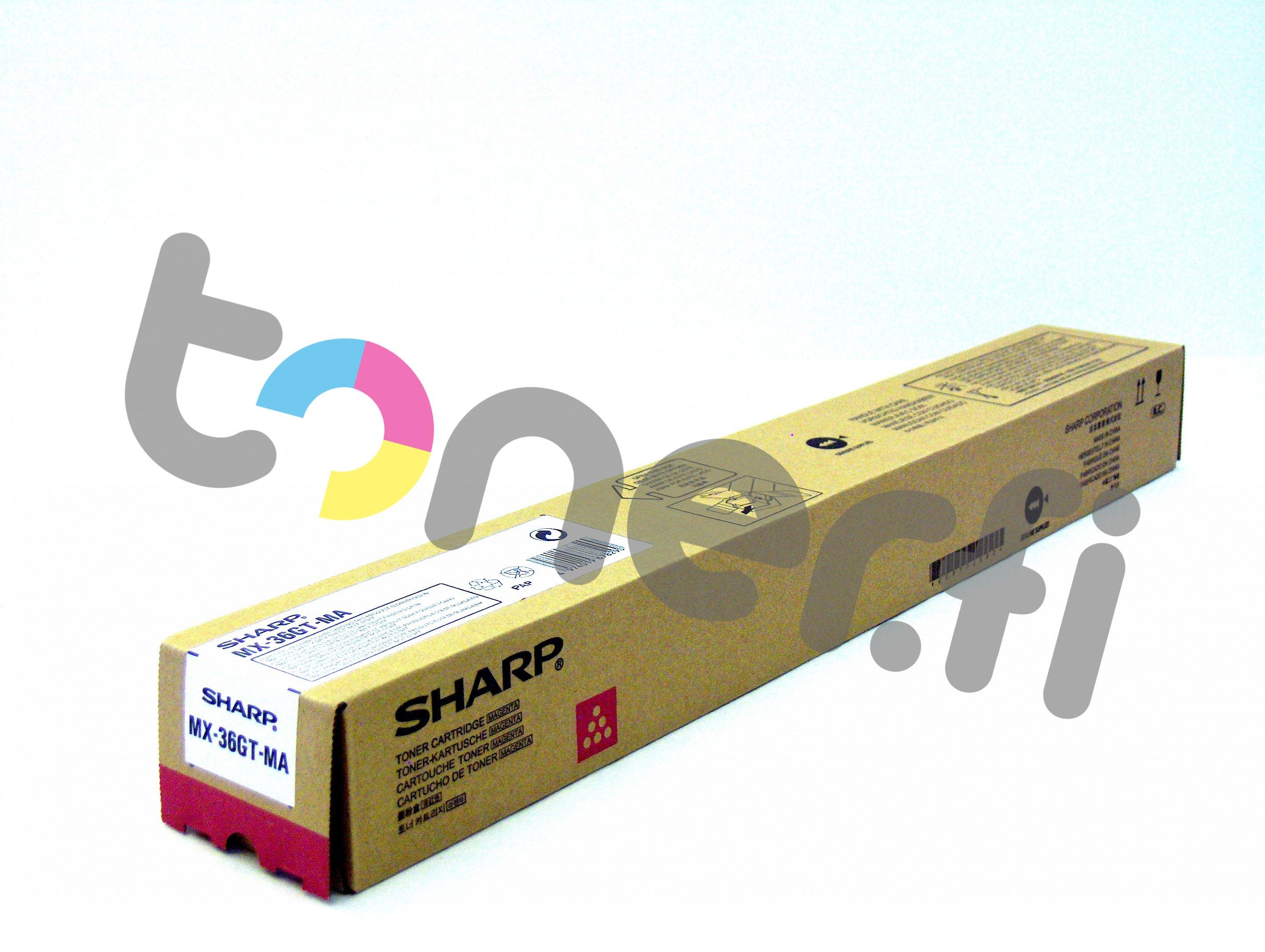 Sharp MX-36GTMA Värikasetti Punainen