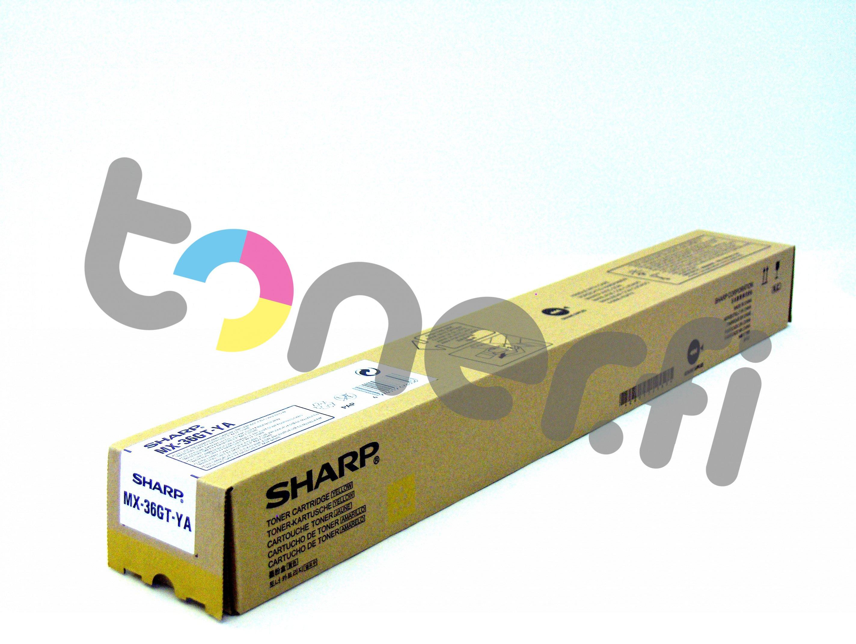 Sharp MX-36GTYA Värikasetti Keltainen