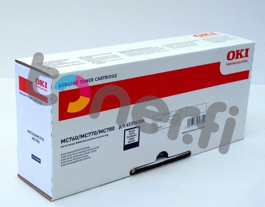 OKI MC760 Värikasetti Musta