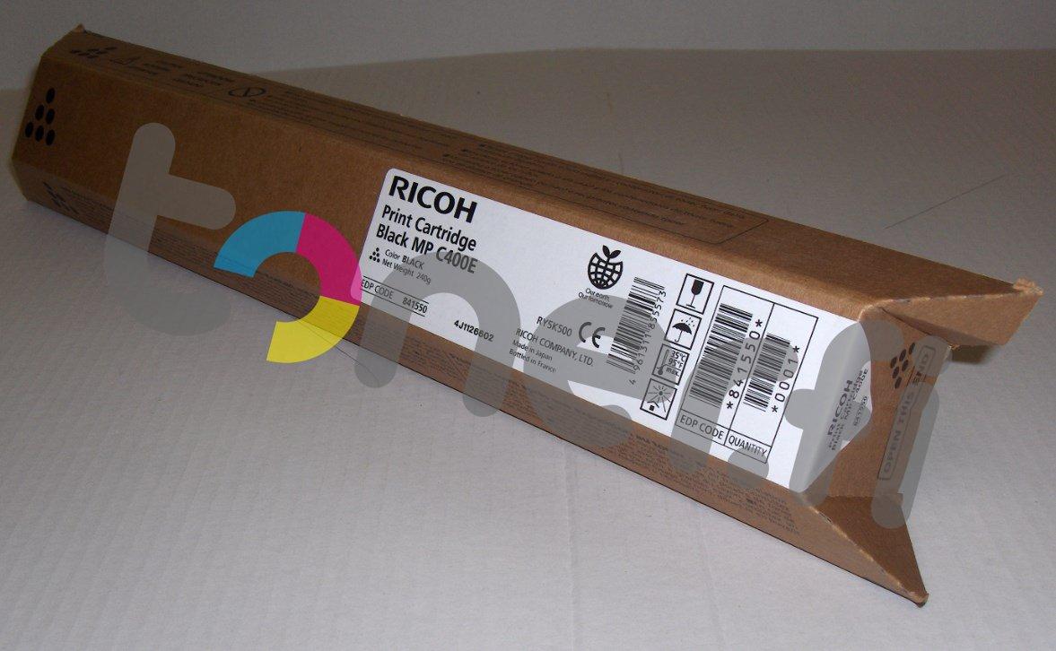 Ricoh MP C400E Print Cartr. Musta
