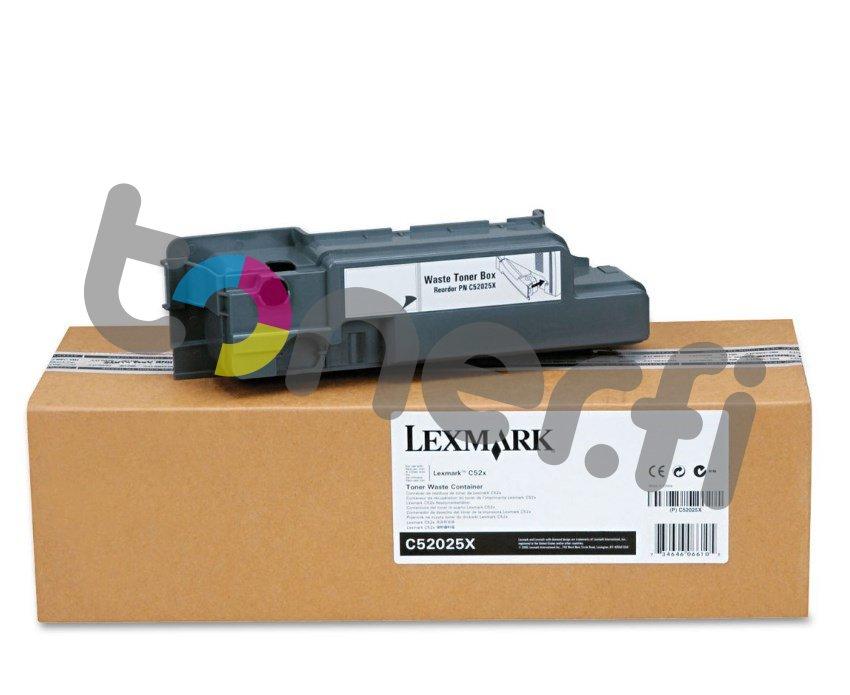 Lexmark C522 Hukkavärisäiliö C52025X 4 kpl jäljellä