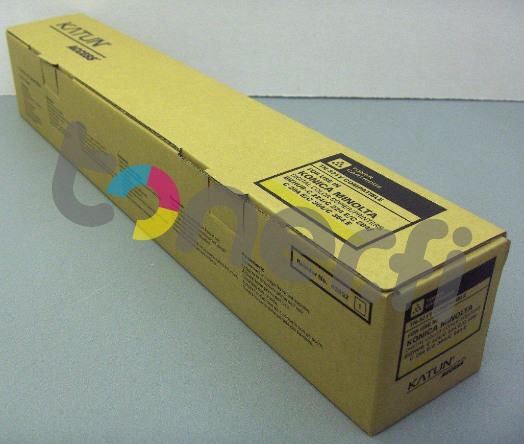 Konica TN321Y Värikasetti Keltainen Katun p/n 43852