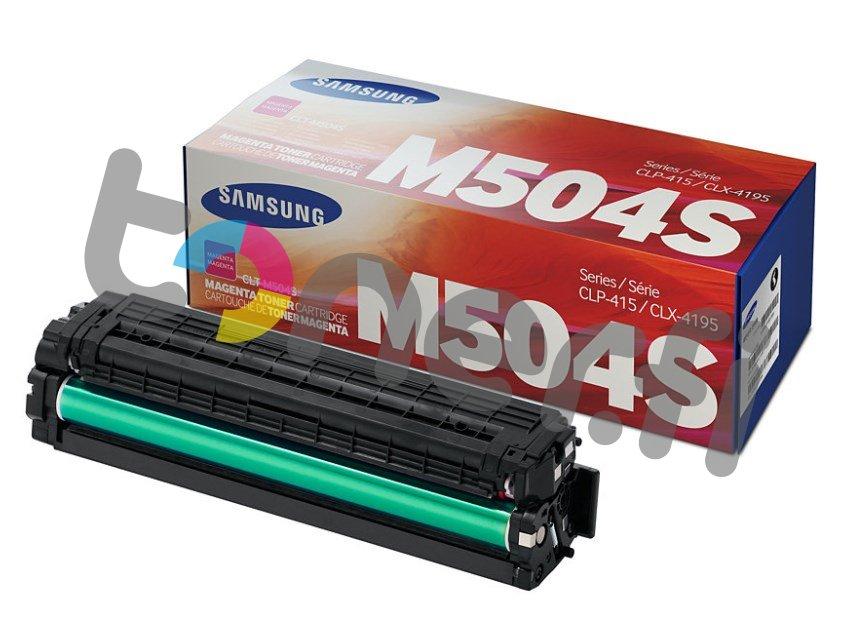 Samsung CLT-M504S Värikasetti Punainen