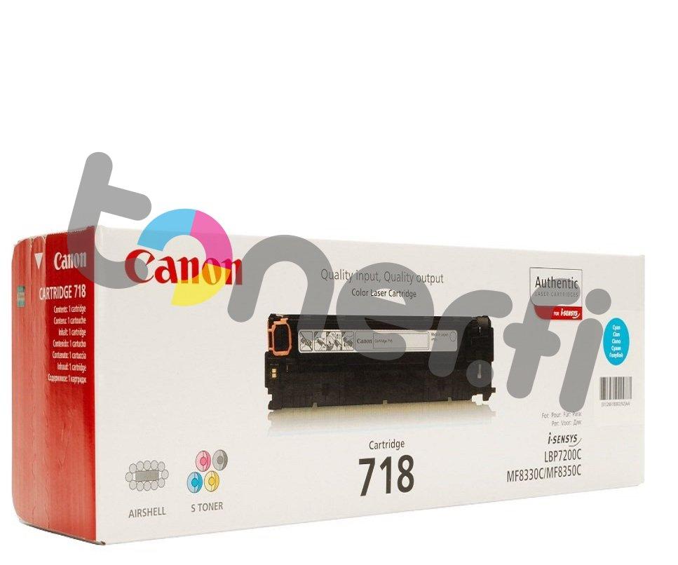 Canon 718 Värikasetti Sininen