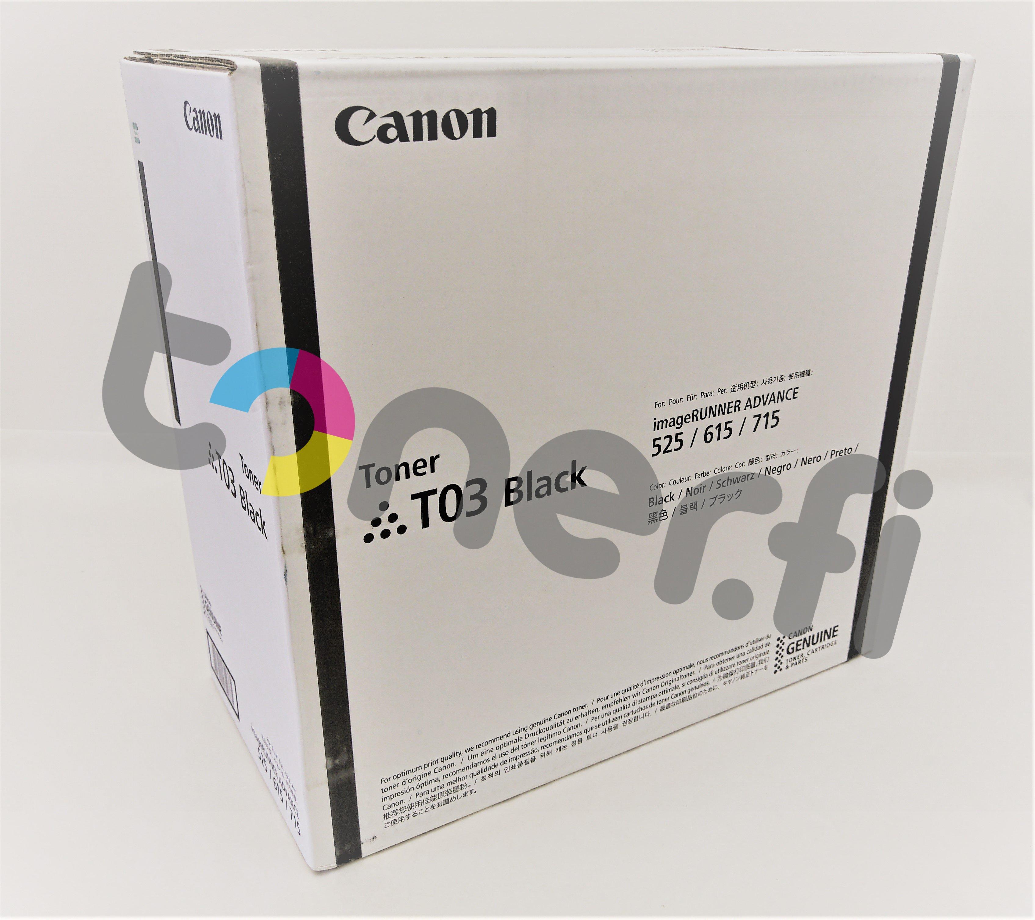 Canon T03 Värikasetti Musta