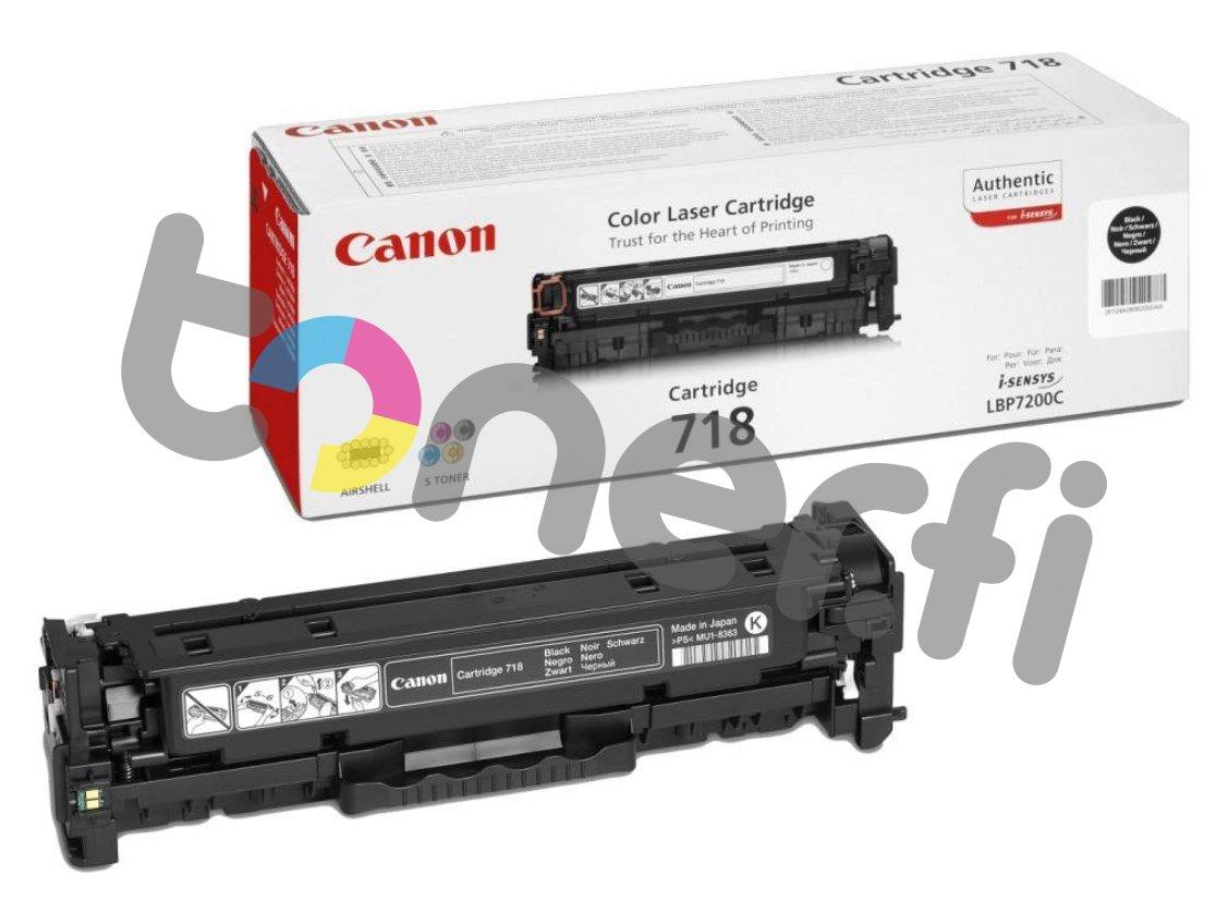 Canon 718 Värikasetti Musta