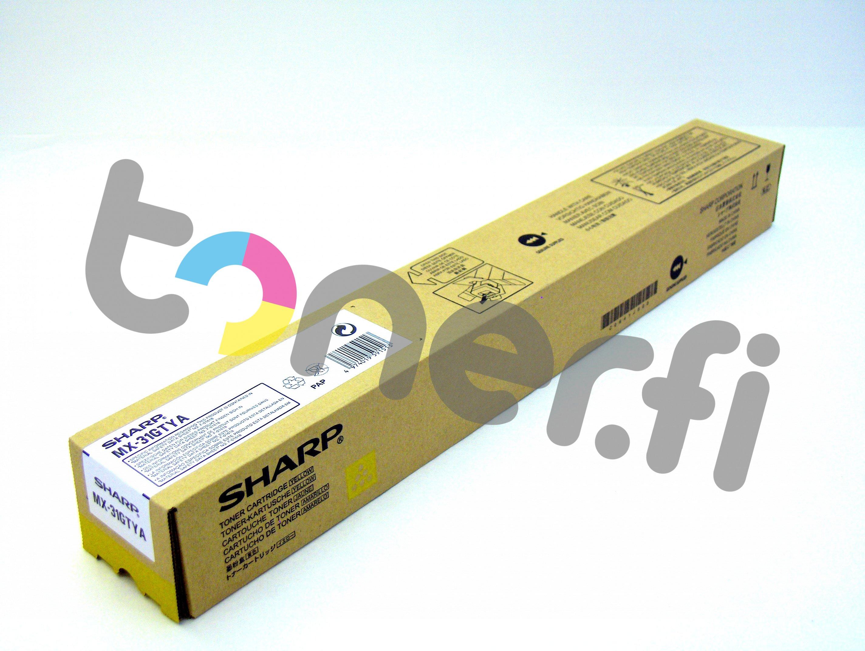 Sharp MX-31GTYA Värikasetti Keltainen