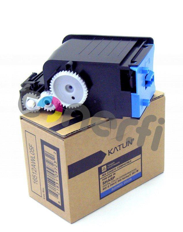 Sharp MX-C30GTC Värikasetti Sininen Katun p/n 47898