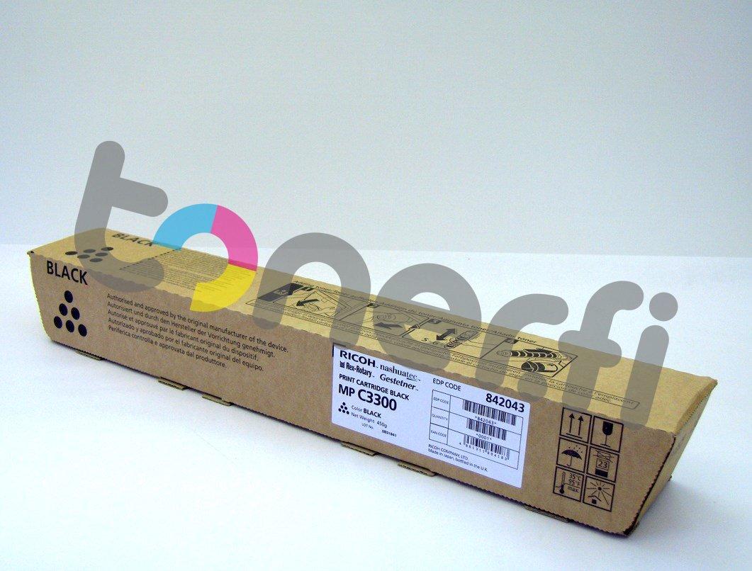 Ricoh MP C3300E Print Cartr. Musta