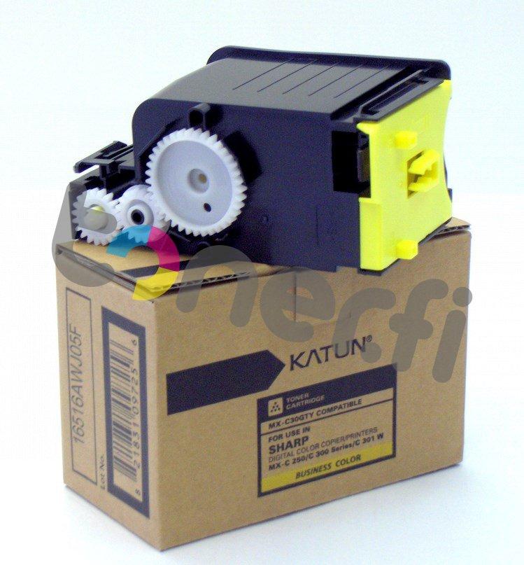 Sharp MX-C30GTY Värikasetti Keltainen Katun p/n 47900