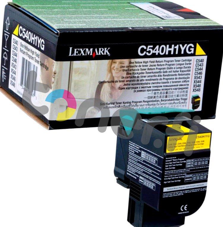 Lexmark C540 HY Värikasetti Keltainen C540H1YG