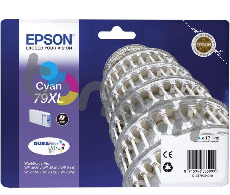 Epson C13T79024010 XL Muste Sininen