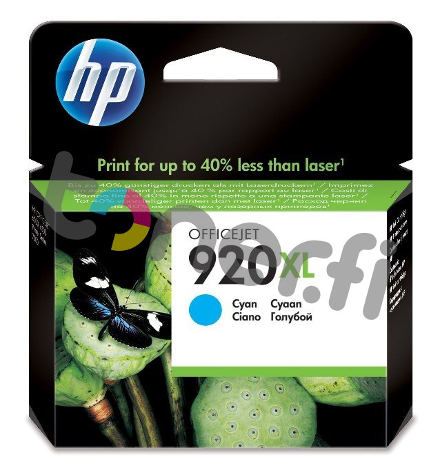HP CD972AE Sininen Muste N:o 920XL