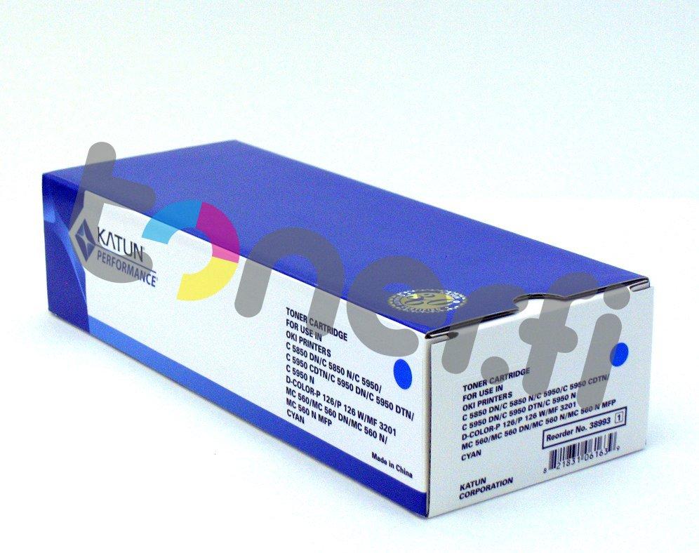 OKI C5850 Värikasetti Sininen Katun p/n 38993